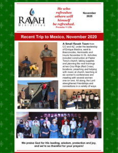 thumbnail of Ravah Ministries November 2020 website